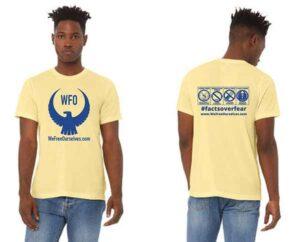 Mens-Tshirt-Yellow